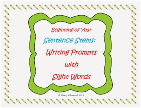 Sentence starters essay writing